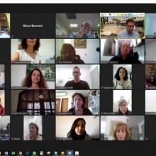 Clinical Instructors Awarded Certificates, Nazareth and North Hospitals, via Zoom (June 2020)